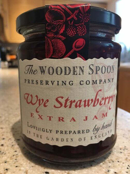 WOODEN SPOON – Wye Strawberry Extra Jam 340g £2.75