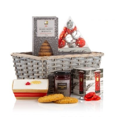 Christmas tea gift basket