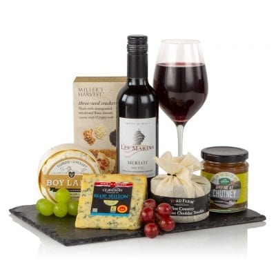 Wine & Cheese Slate