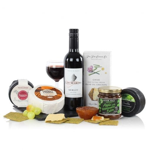 Cheese and Wine Slate