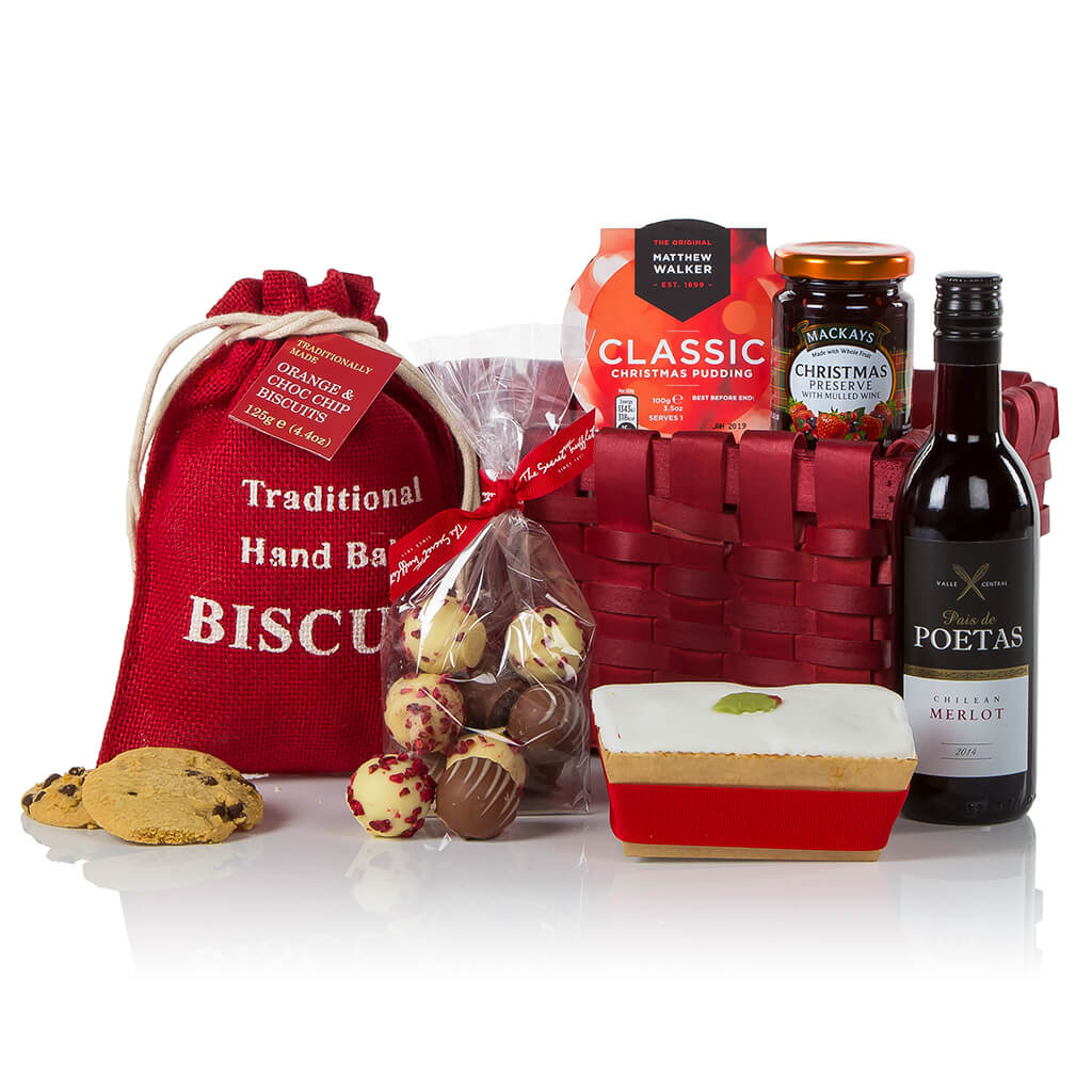 Festive Treats Christmas Basket