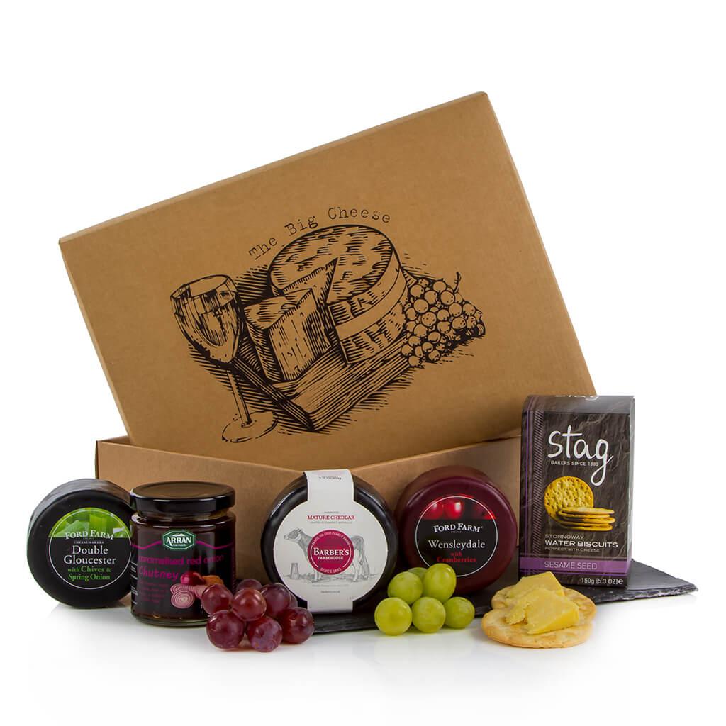 Cheddar, Gloucester & Wensleydale Cheese Box